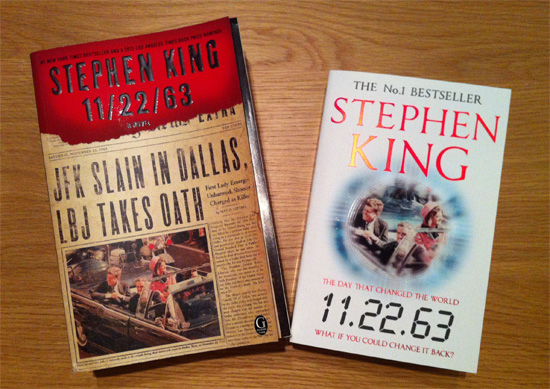 Lilja s Library   The World of Stephen King  1996   2018  11 22 63 paperbacks