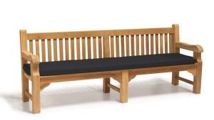 Outdoor Large Bench Cushion 24m Lindsey Teak