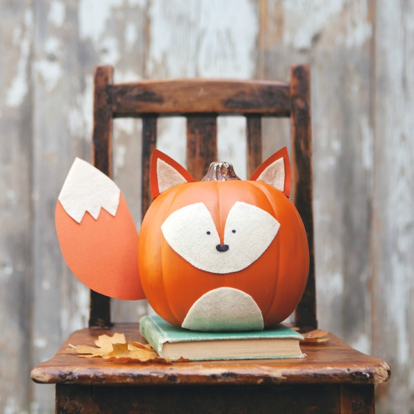 25 No Carve Pumpkin Decorating Ideas   Lines Across Try one of these no carve pumpkin decorating ideas this year and avoid the  gooey mess  woodlandpumpkins10web