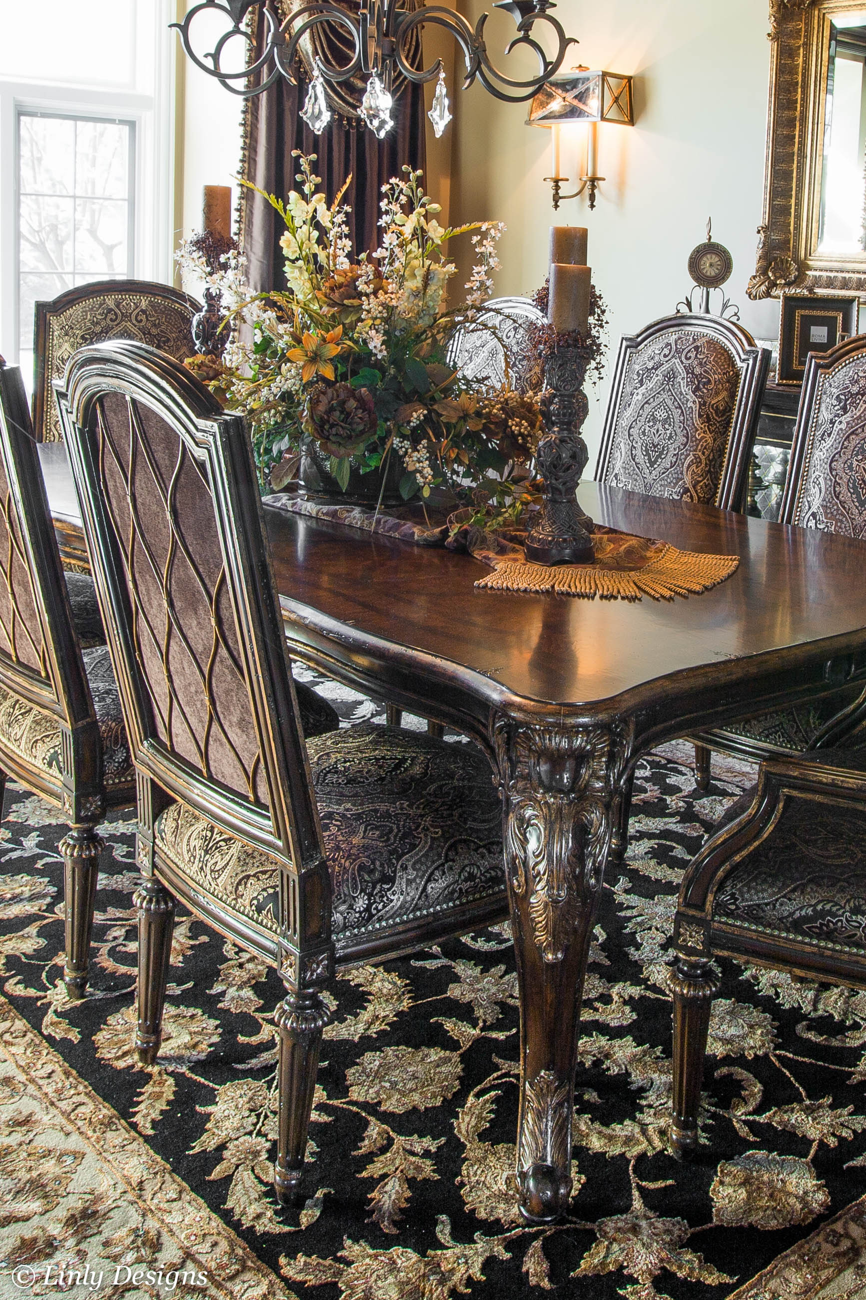 High Chair Dining Table Set