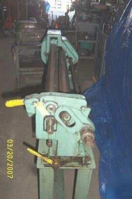Pexto 3 Quot X36 Quot Sheet Metal Slip Roller Roll Rolls M 390e