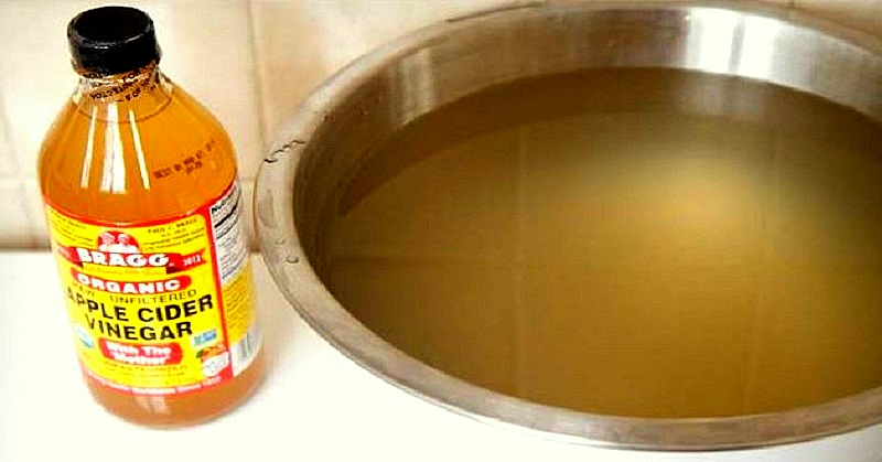 Soaking Vinegar Bath