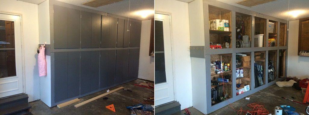Building Garage Wall Storage