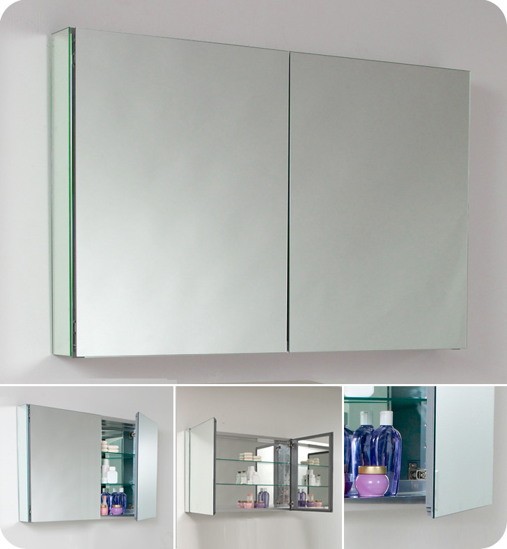 How Install Bathroom Mirror Cabinet