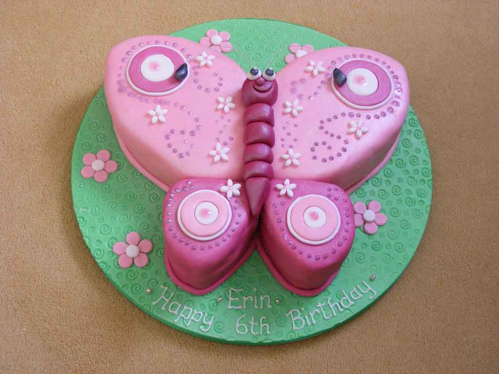 Butterfly Cakes     Decoration Ideas   Little Birthday Cakes Butterfly Birthday Cake Ideas