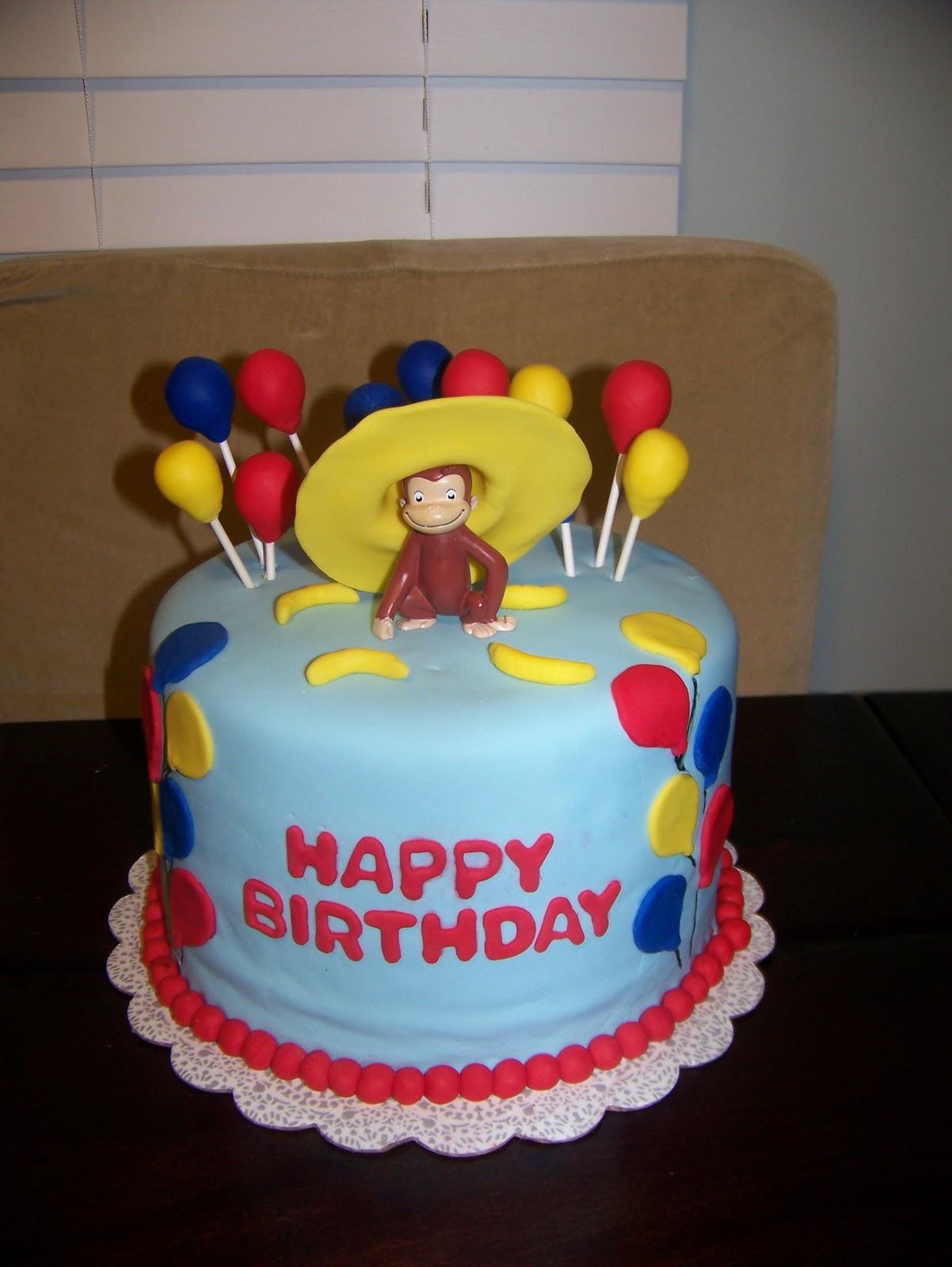 Curious George Cakes Decoration Ideas Little Birthday