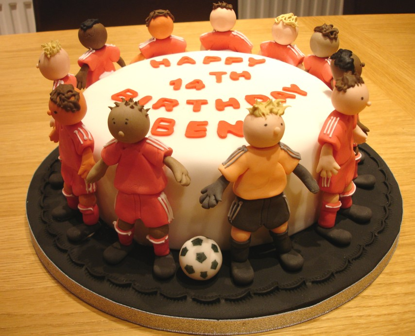 Football Cakes Decoration Ideas Little Birthday Cakes