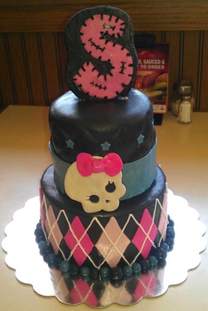 Monster High Cakes Decoration Ideas Little Birthday Cakes