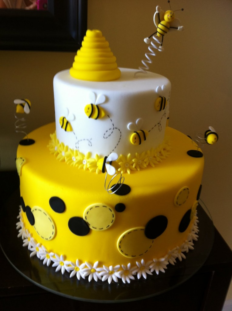 Happy Birthday Cake Yellow