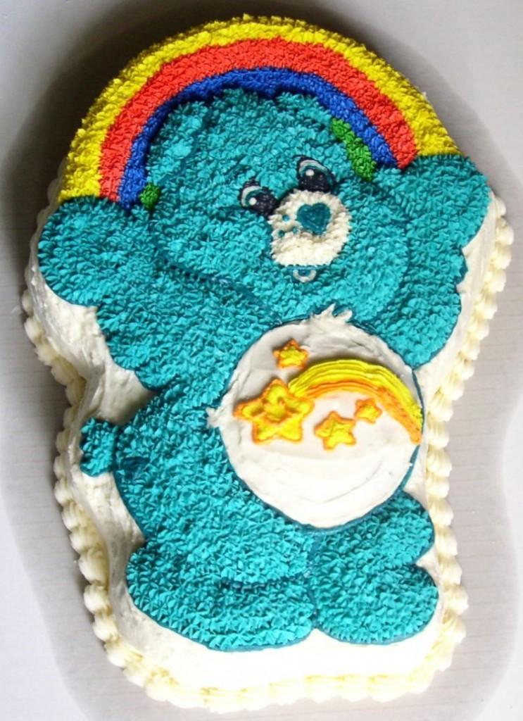 Care Bear Cakes Decoration Ideas Little Birthday Cakes