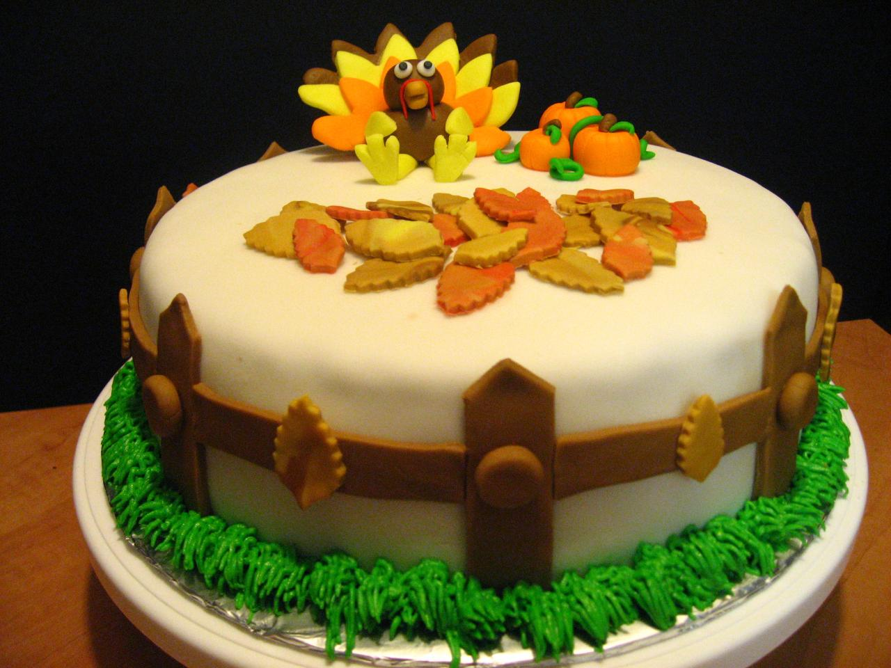 Thanksgiving Cakes     Decoration Ideas   Little Birthday Cakes Thanksgiving Cakes Pictures