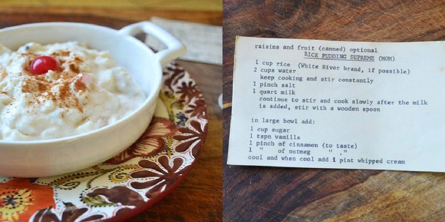 Best Rice Pudding Recipe World
