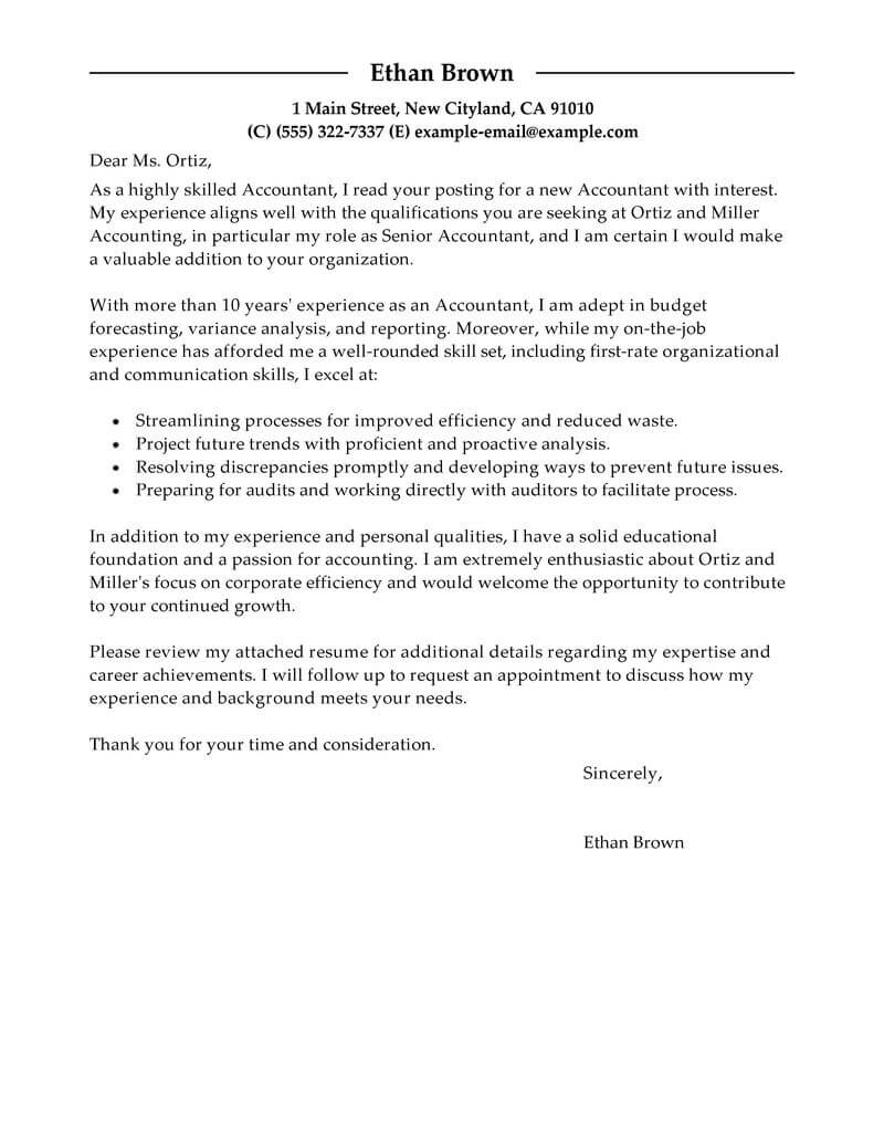 Examples Of Cover Letters Generally Lvelegant