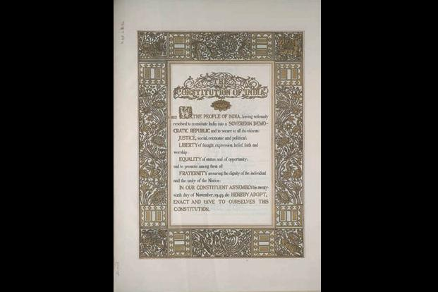 The constitution crossword - Livemint