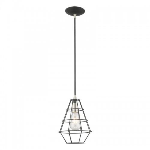 geometric mini pendant light # 54