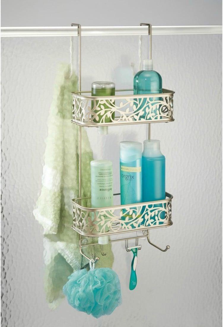 Fantastic Hanging Shower Caddies Frieze - Bathtub Design Ideas ...