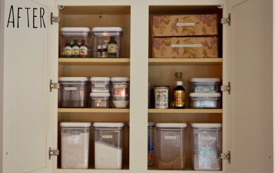 How to Deep Clean Your Kitchen   Living Well Spending Less     After the deep clean  our kitchen pantry was much easier to navigate