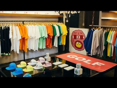 Tyler The Creator Officially Opens a GOLF Store on Fairfax in Los     Tyler The Creator Officially Opens a GOLF Store on Fairfax in Los Angeles     Lizzy Brodie