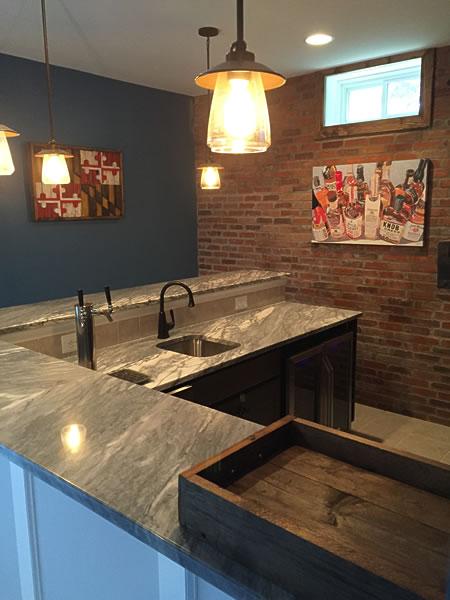 Basement Amp Wet Bar Gallery Lkc Construction Corp Lkc