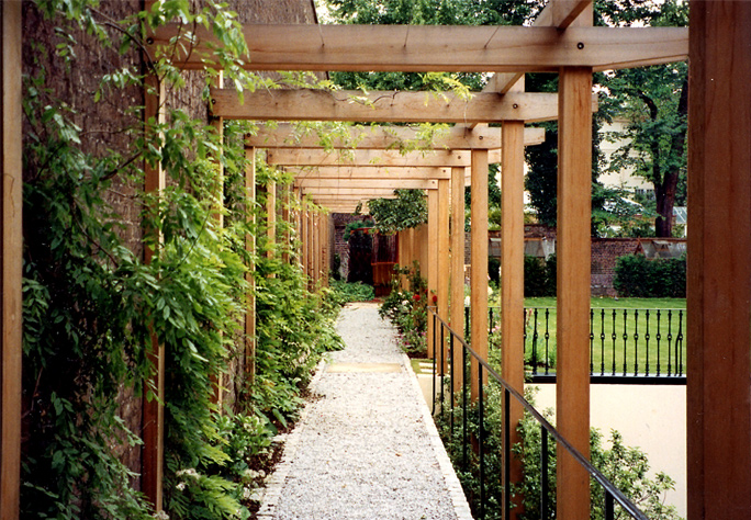 Lloyd Christie Garden Architecture London Pergolas