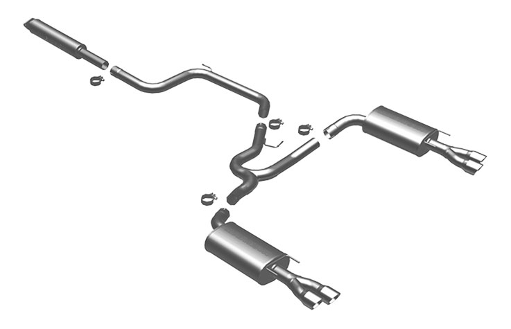 2005 Grand Prix Exhaust System