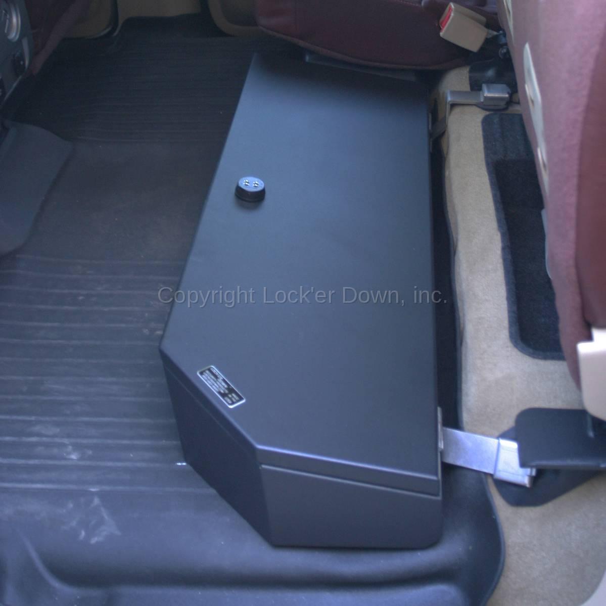 Suvault 174 2009 2018 F150 Crew Cab Under Seat Long Gun Safe