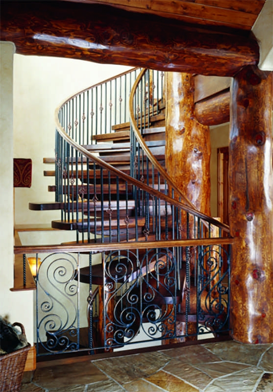Log Home Staircases   Spiral Staircase Around Tree Trunk   Treehouse Masters   Ter Kulve   Canopystair   Robert Mcintyre   Wooden Stairs
