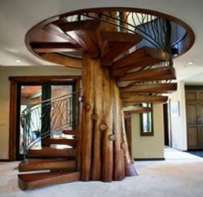 Stairmeister Spiral Stairs | 6 Foot Spiral Staircase | Tread Depth | Stair Kit | Metal | Building Code | Hayden Gray