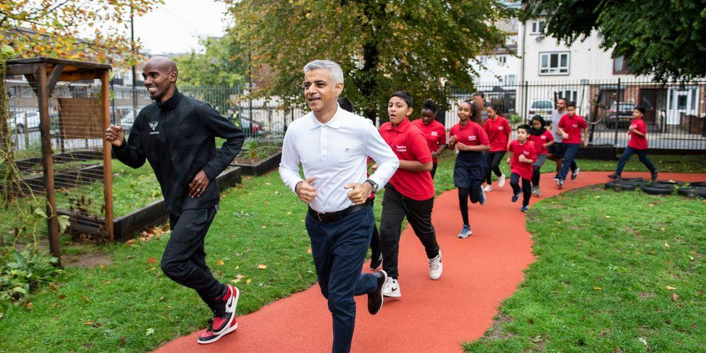 The Daily Mile | London City Hall