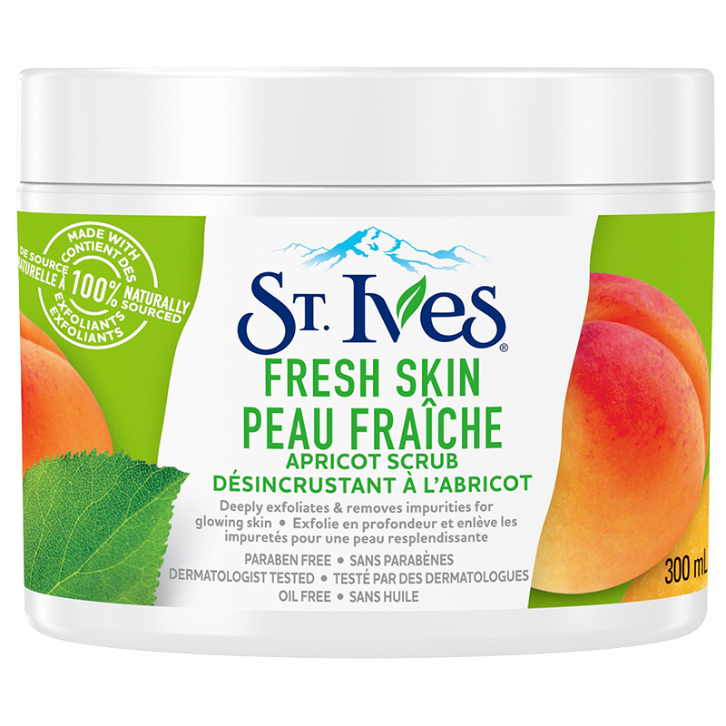 St Ives Apricot Scrub Bright Skin Review
