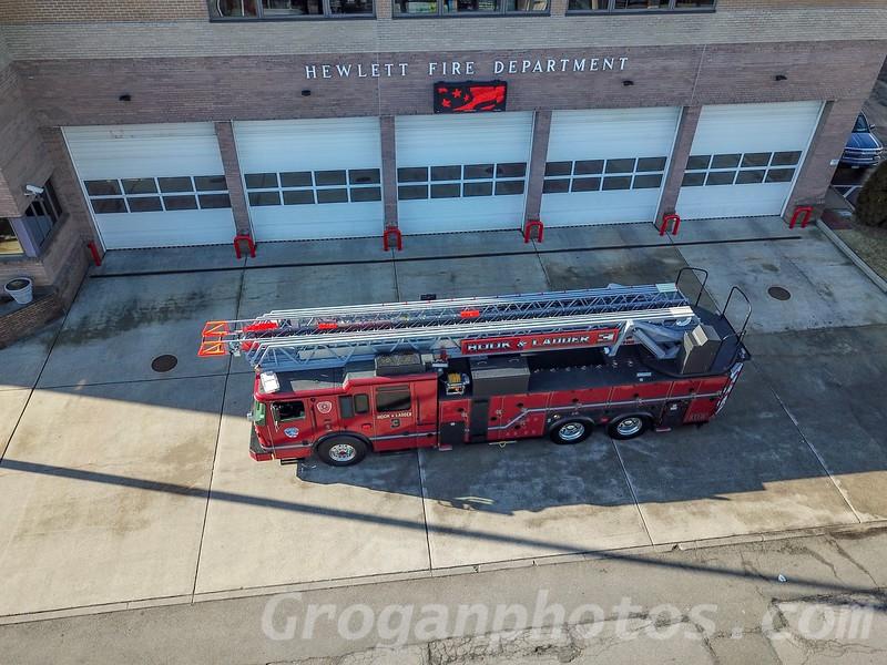 New Ferrara Hewlett Ladder 303 Long Island Fire Photos