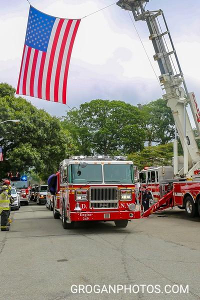 Ff George Scheer Funeral Long Island Fire Photos