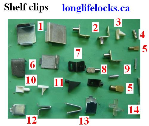 Shelf Clips For Office Furnitue Book Cases Storage Cabinets