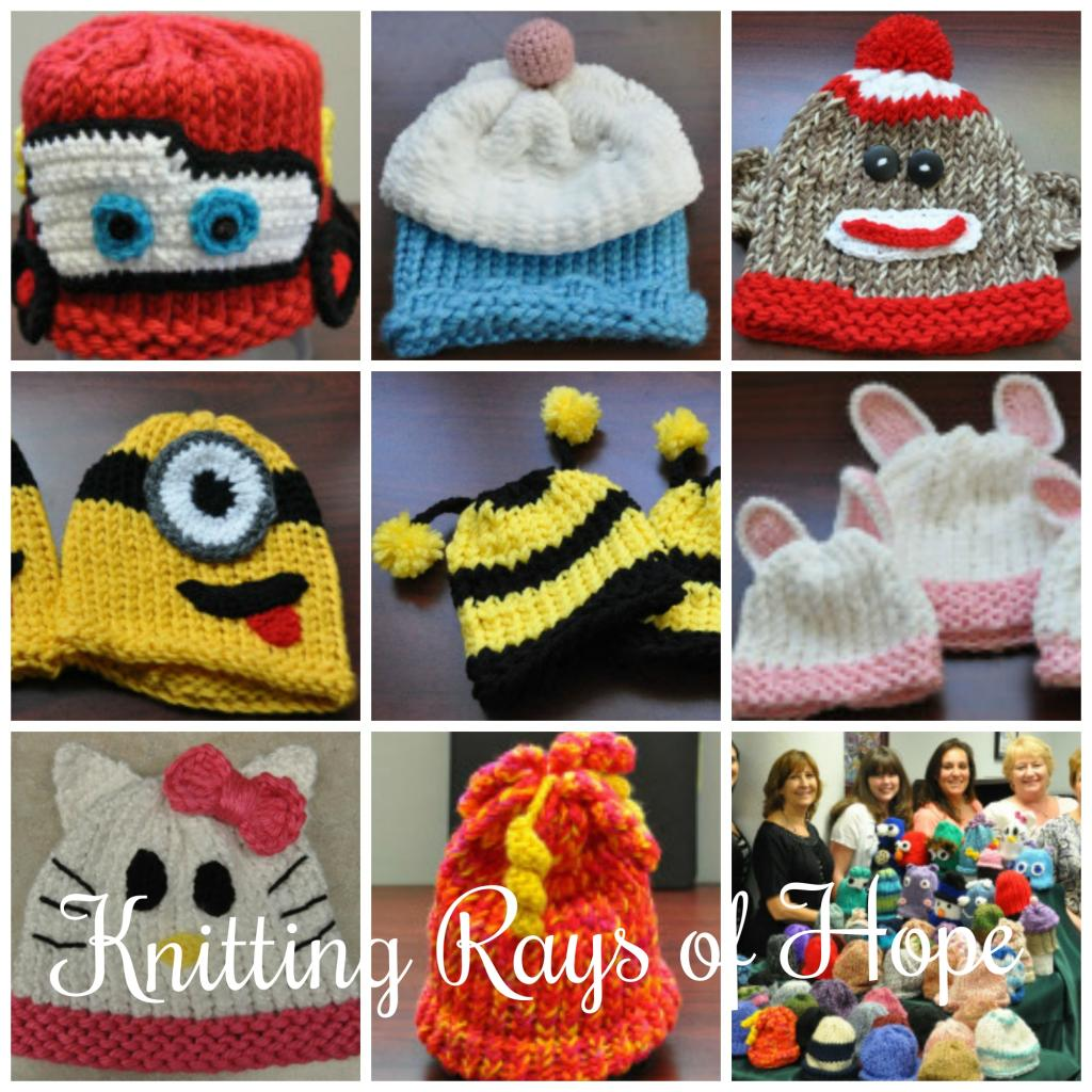 Knifty Knitter Baby Hats