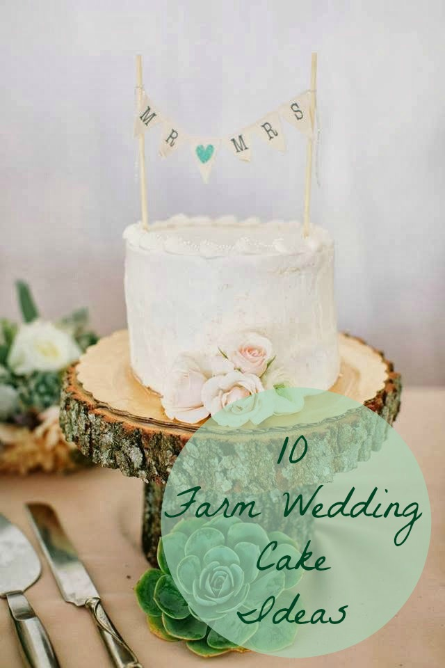 10 Farm Wedding Cakes   Lorna Sixsmith 10 Farm Wedding Cake Ideas
