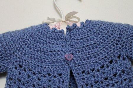 Imgenes De Easy Crochet Baby Sweater Free Patterns