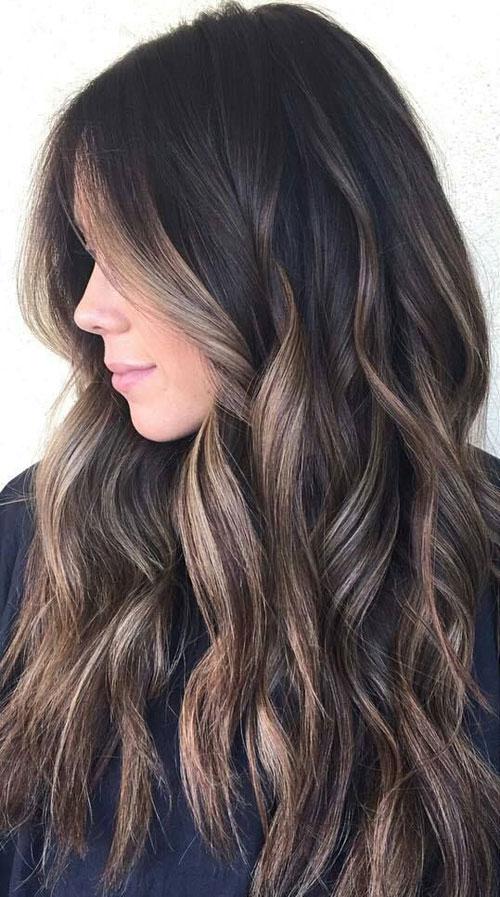 Caramel Light Brown Hair
