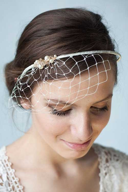 Veil Bridal Hair Hairstyles Long