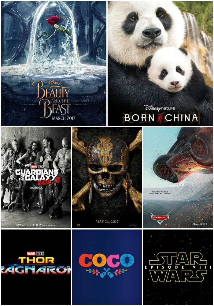 2017 Disney Movies in Review