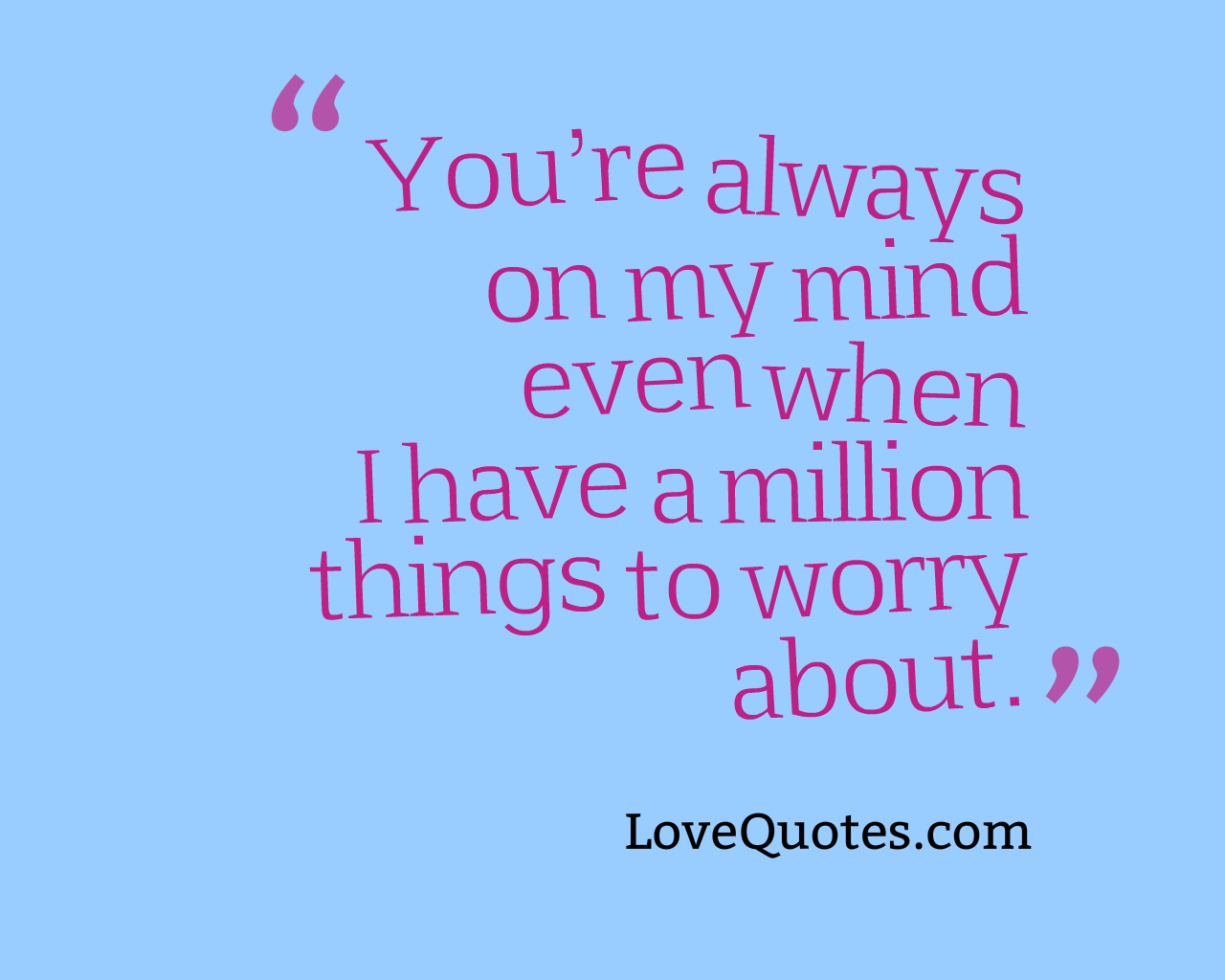 You Are My Love Quotes