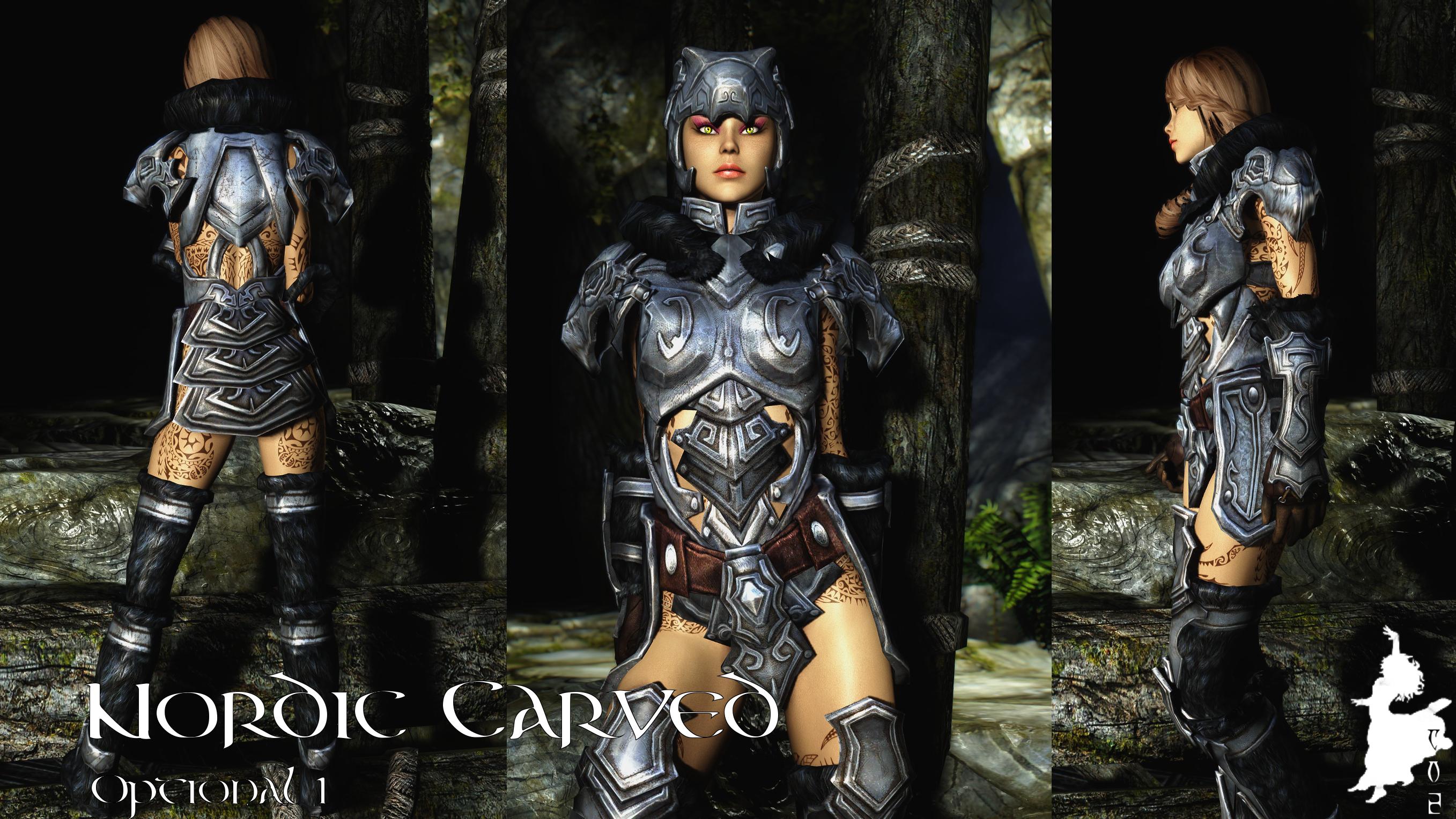 Skyrim Nord Armor Female Wwwtollebildcom