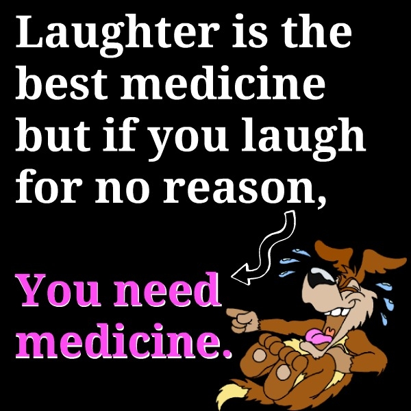 Short Note Laughter Best Medicine