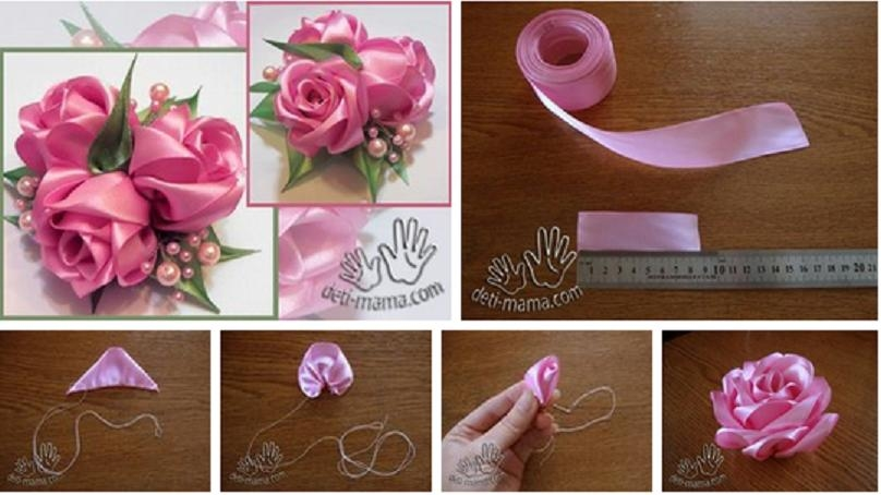 Roses Silk Ribbon Embroidery Tutorial