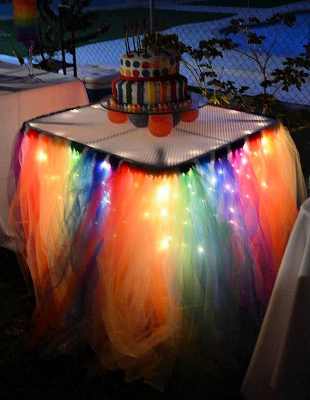 Colorful Party Tables Pictures Photos And Images For