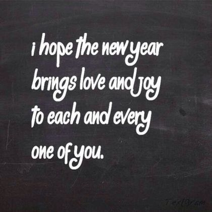 I Hope The New Year Brings You Love Pictures  Photos  and Images for     I hope the new year brings you love