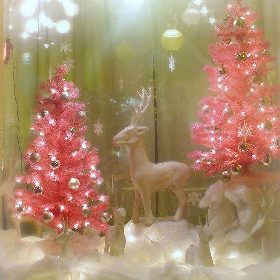 Pink Christmas Tree Wallpaper Tumblr