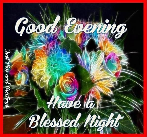 Rose Glitter Graphics Good Night