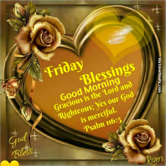 Blessings Friday Images Good Morning