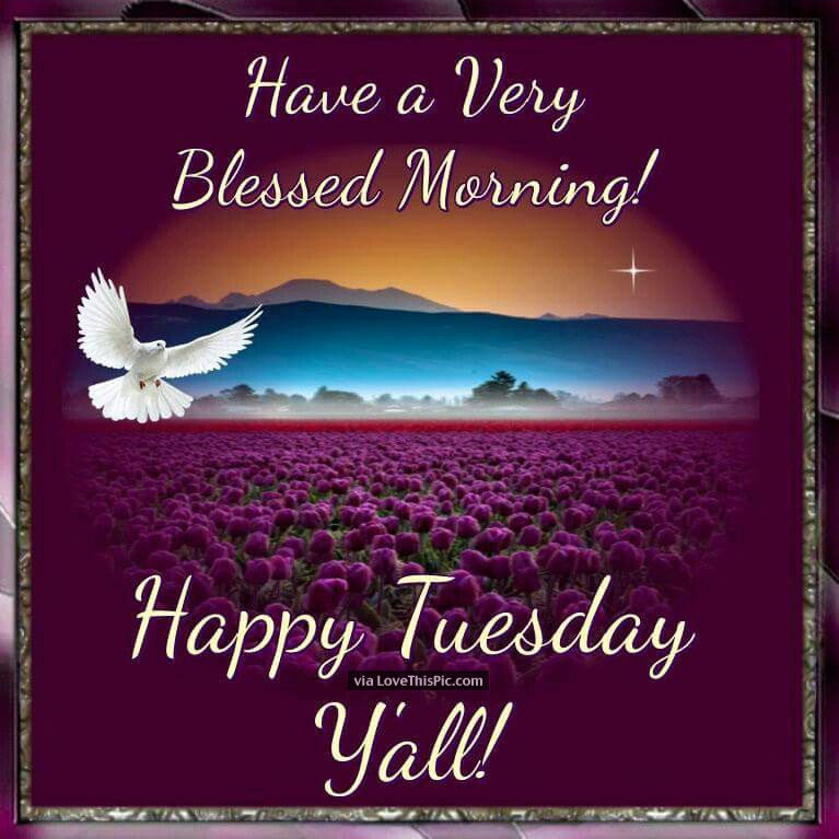 Good Tuesday Morning Prayer Greetings