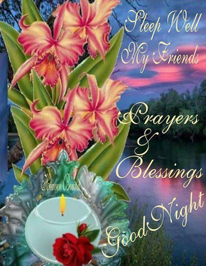 Night Blessings Prayers Good And